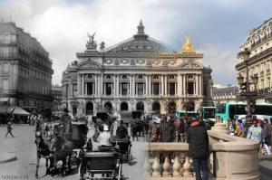 De Opéra toen en nu